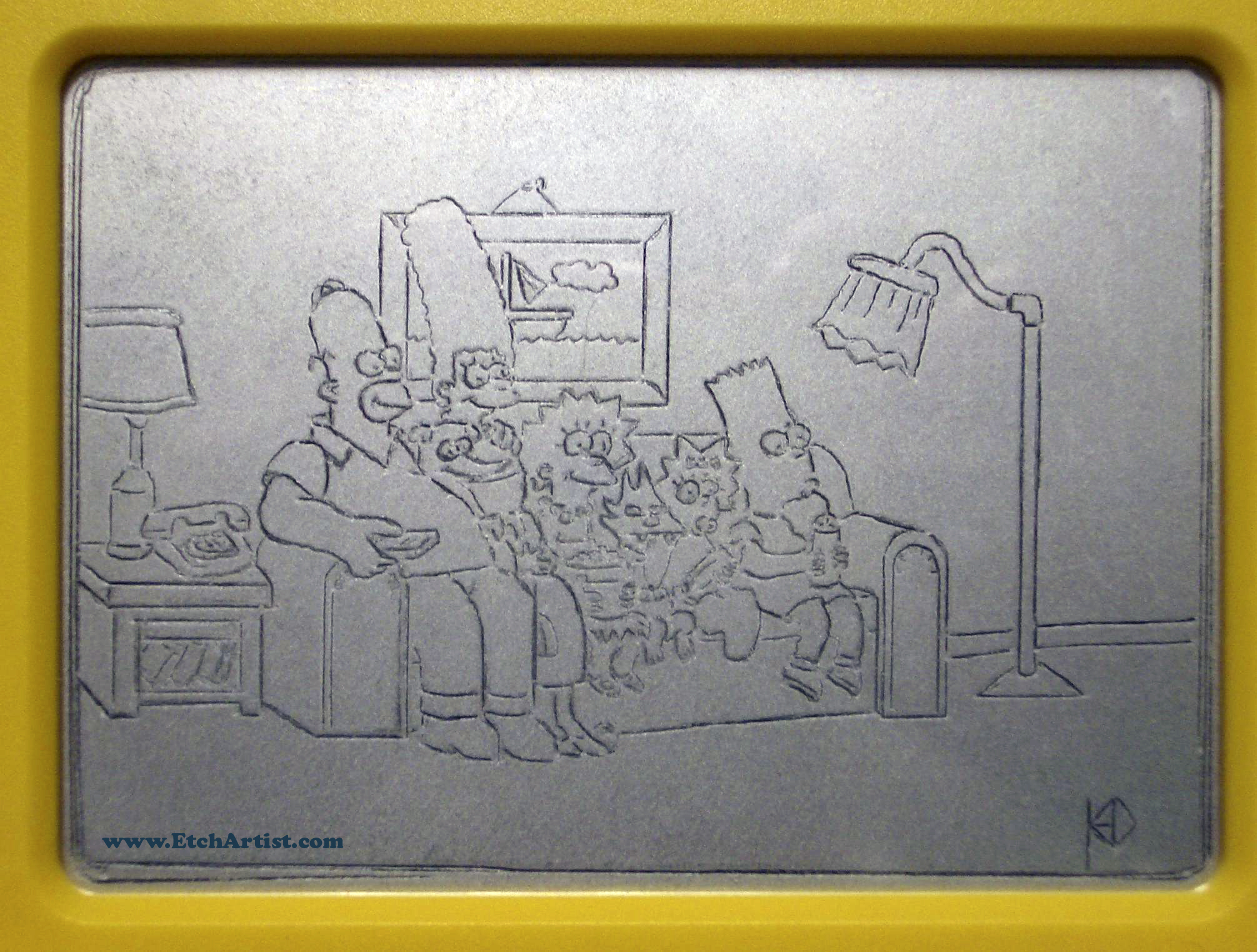 The Simpsons Couch Scene